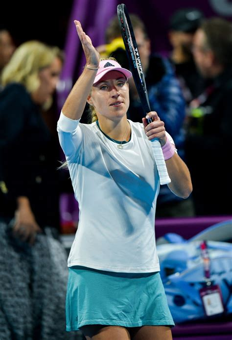 I'm going without expectations, like i played here: ANGELIQUE KERBER at 2019 WTA Qatar Open in Doha 02/13/2019 ...