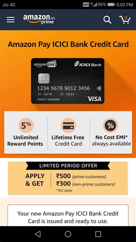 If you are not comfortable paying an annual fee for amazon pay icici bank credit card offers cashback on all transactions. Amazon ICICI Bank Credit Card Offer: Get Rs.500 Cashback (Proof Added)