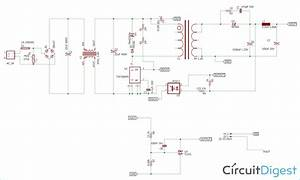 12v 1a Smps Power Supply Circuit Design On Pcb