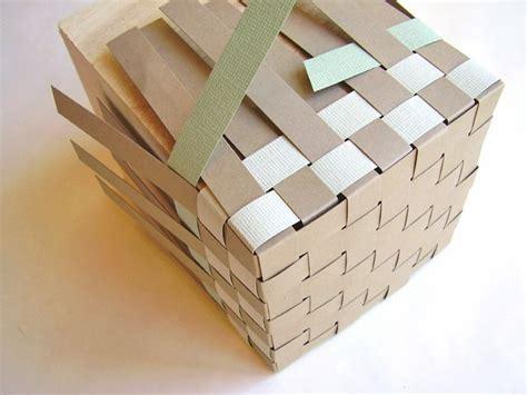 woven paper basket tutorial step  paper basket