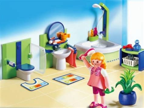 playmobil salle de bains