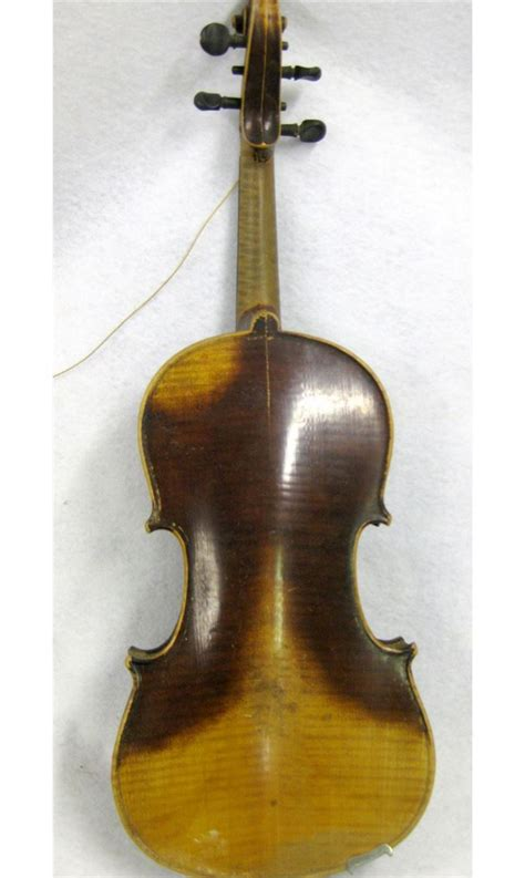 violin  bow  case violin   paper label