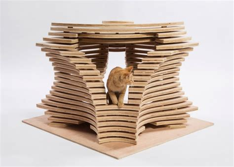 bold cat imaginative and bold cat houses with futuristic designs digsdigs