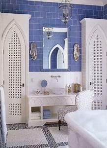 Moroccan bathroom decor Home is beneath a palm tree