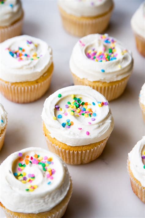 topping for cupcakes classic vanilla cupcakes with whipped vanilla frosting style sweet ca