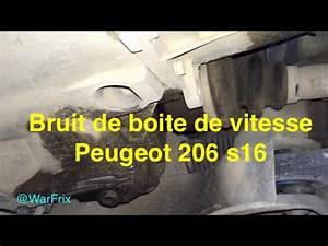 Boite De Vitesse Reconditionnée : bruit boite de vitesse 206 s16 youtube ~ Maxctalentgroup.com Avis de Voitures