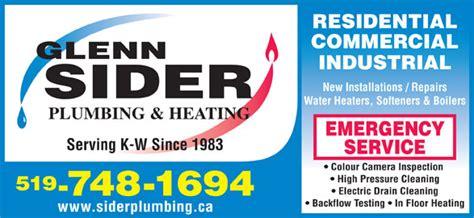 Glenn Plumbing by Sider Glenn Plumbing Heating Ltd Opening Hours 49