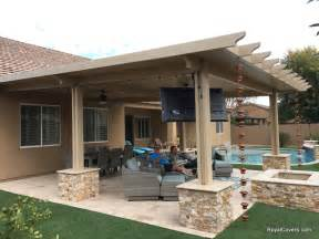 Solid Wood Patio Cover Kits by Alumawood Patio Covers As Ideas And Tips One