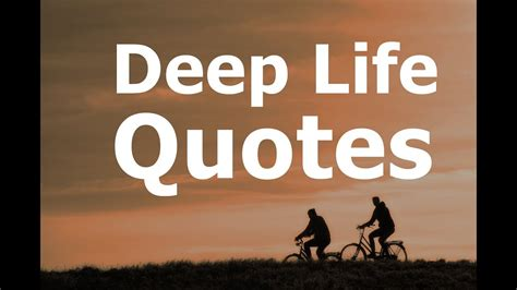 deep life quotes youtube