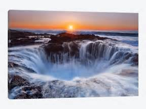 Thor's Well, Cape Perpetua, Siuslaw National Fo    Miles