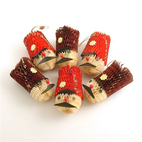 30 best images about vintage christmas honeycomb decorations on pinterest vintage christmas