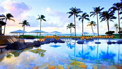 Desktop Hawaiian Hawaii Vacation Background Beach Summer