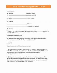 lease termination agreement letter by elfir61807 cover With free rent agreement letter