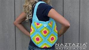 Diy Learn How To Crochet Granny Square Purse Hand Bag Tote