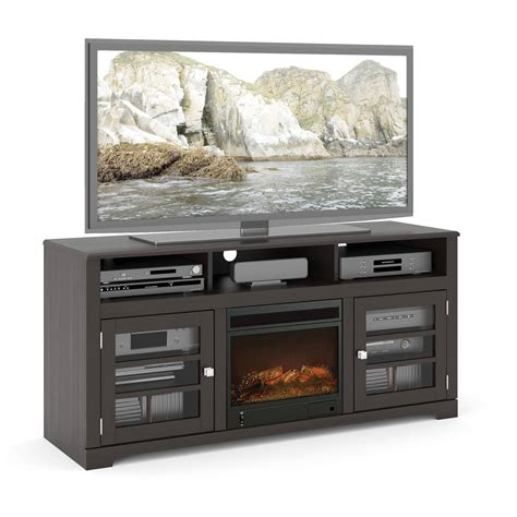 media console fireplaces tv stands walmart