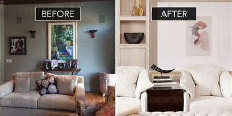 Sophisticated Second Home by Before After A Forgettable Family Room Gets A