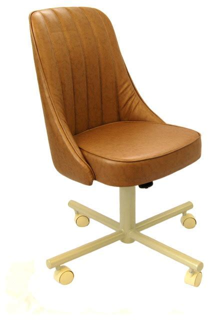 Swivel Dining Chairs With Casters Dining Room