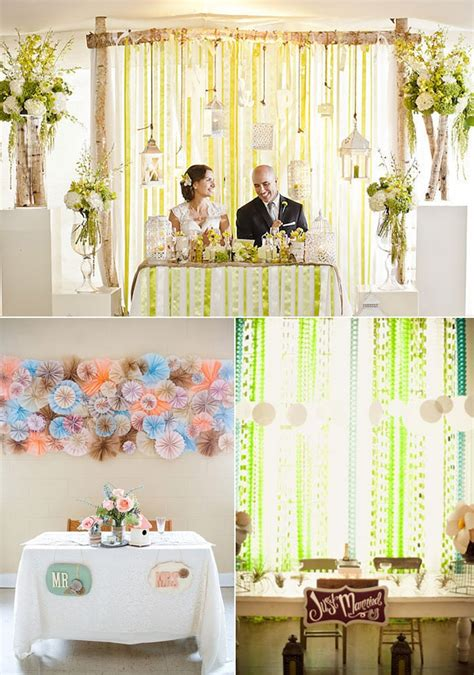 14 Best Images About Sweetheart Tables On Pinterest