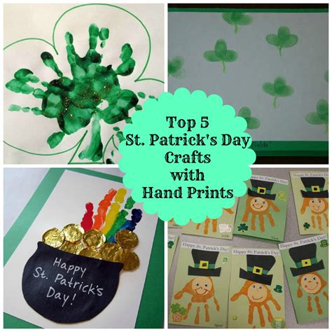 st patricks day crafts for preschoolers 5 easy print st s day crafts for 812