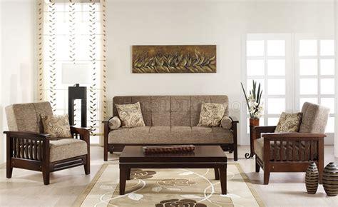 fume microfiber living room wwooden frame sleeper sofa