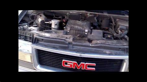 automotive air conditioning repair 1996 gmc savana 1500 on board diagnostic system chevy gmc astro van safari ventilation repair youtube