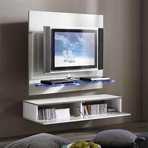 Meuble Sous Tv Suspendu : meuble tv suspendre ikea ~ Teatrodelosmanantiales.com Idées de Décoration