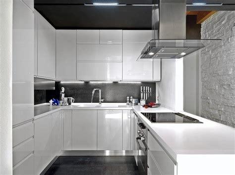 de  fotos de cocinas pequenas modernas de