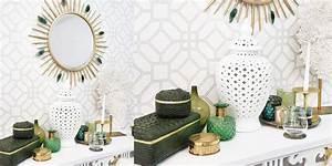 Tapete Dunkelgrün Gold : beauty oase in gr n gold instashop ~ Michelbontemps.com Haus und Dekorationen
