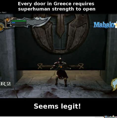 God Of War Memes - god of war logic by cedric1234 meme center
