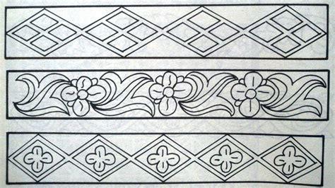 Unduh 100 Gambar Batik Geometris Yang Mudah Digambar