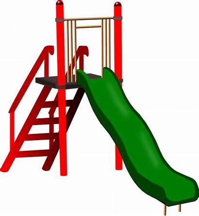 Slides Cartoon Playground Clipart Computer