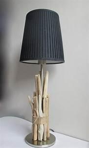 Lampe Galet Grand Modele : pied de lampe en bois flott grand mod le ~ Teatrodelosmanantiales.com Idées de Décoration