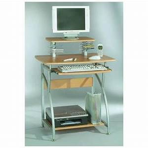 Petit Bureau Pour Ordinateur : petit bureau pour ordinateur petit meuble de bureau lepolyglotte ~ Teatrodelosmanantiales.com Idées de Décoration