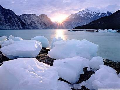 Glacier Lake Mountains Desktop Wallpapers 4k Ultra