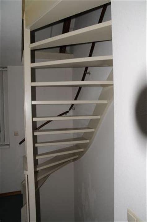 krakende open trap aftimmeren open trap