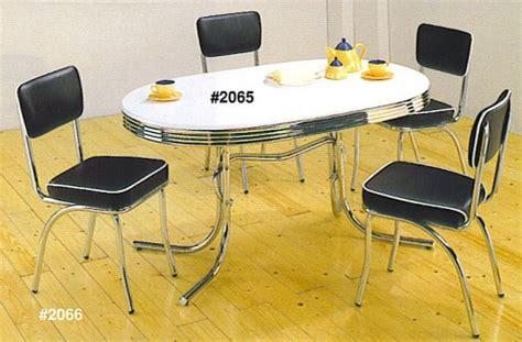 yellow retro kitchen table chairs home decor interior