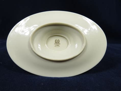 Lenox Autumn Gravy Boat by Lenox Autumn Pattern China Gravy Boat Attached Bottom