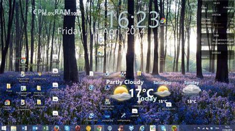 gadget de bureau windows 7 gratuit rainemeter ajouter de nouveaux gadgets à votre bureau