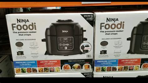 ninja costco cooker pressure fryer air foodi qt steamer