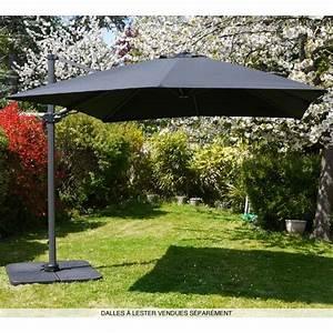 Parasol Grande Taille : parasol d port carr ~ Melissatoandfro.com Idées de Décoration