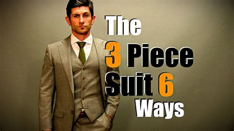 The 3 Piece Suit Styled 6 Ways