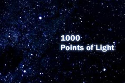1000 points of light thousand points of light images