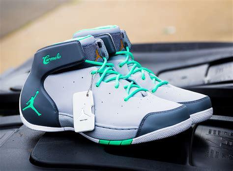 jordan melo  green glow sneakernewscom