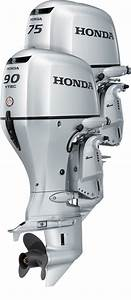 Honda Bf75 And Bf90 Outboard Engines