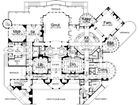 mansion floor plans floorplans homes of the rich page 2