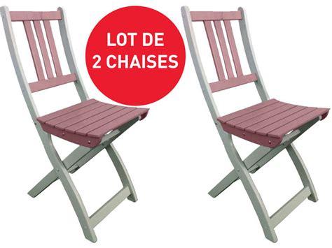 chaises de jardin pliantes lot de 2 chaises pliantes de jardin coloris