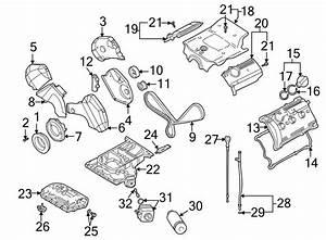 Volkswagen Passat Wagon Engine Timing Cover  Inner  Liter
