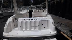 Naut Guilty Boat by Berthiaume Loses Arm On Naut Guilty Boat Trip With