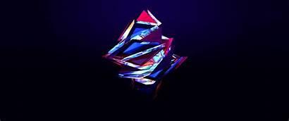 Maller Justin Abstract Facets Pc Triangles Pantalla
