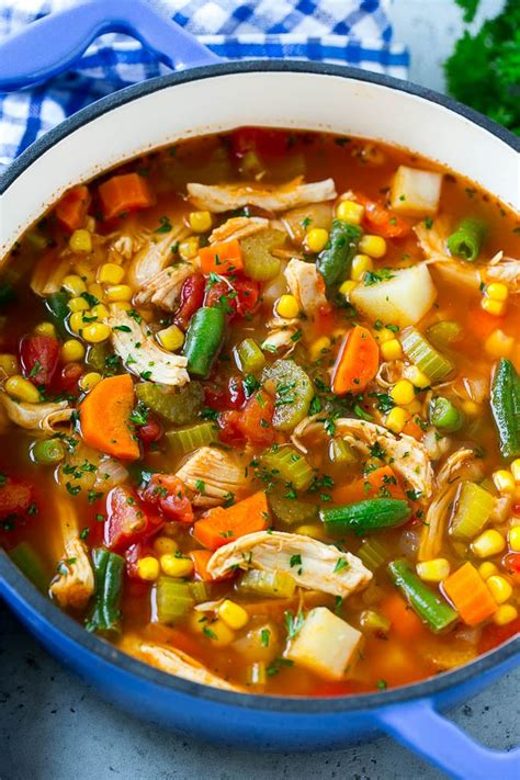 types of vegetable soups chicken vegetable soup dinner at the zoo